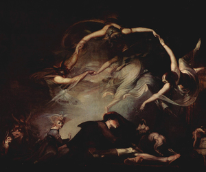 art, henry fuseli, and painting image