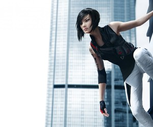 games, mirror's edge, and girl image