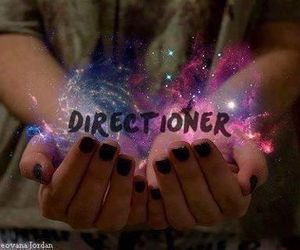 galaxy, directioner, and one direction image