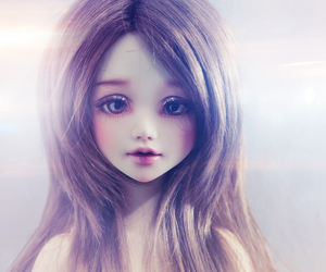 doll, kawaii, and pretty image