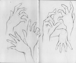 beautiful, creative, and drawing image