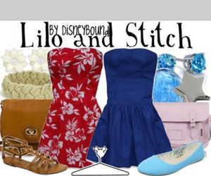 fashion, lilo, and stitch image