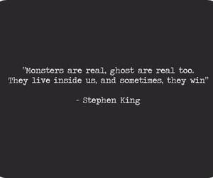 monster, quotes, and Stephen King image