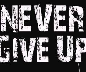 feels and never give up image