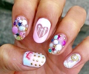 nails, cute, and girly image