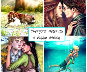 ginny weasley, jacob black, and happy ending image