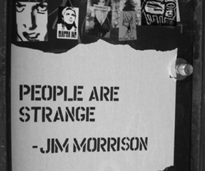 Jim Morrison, people, and quote image