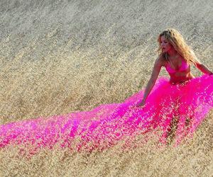 pink, shakira, and dress image