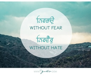 fear, hate, and quote image