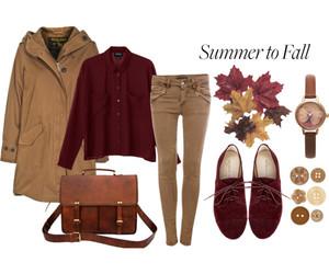 autumn, fall, and parka image