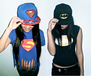 batman, superman, and swag image
