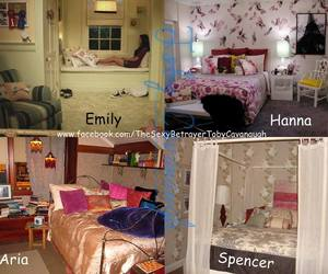 emily, hanna, and rooms image