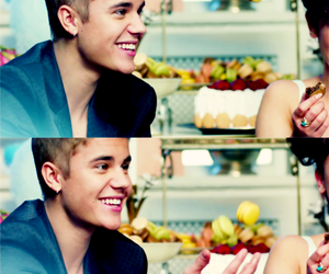 justin bieber, smile, and justin image