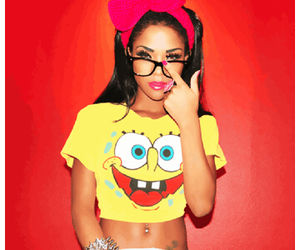 girl, swag, and spongebob image
