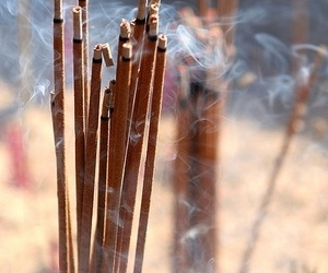 indie, smoke, and incense image