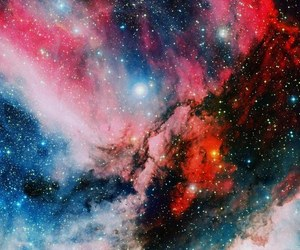 galaxy and pink image