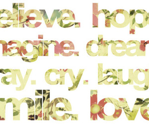 Dream, hope, and smile image