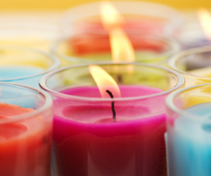 candle, lights, and candles image