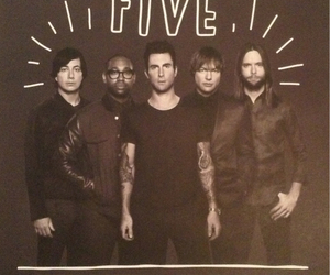 adam levine, maroon 5, and mickey madden image