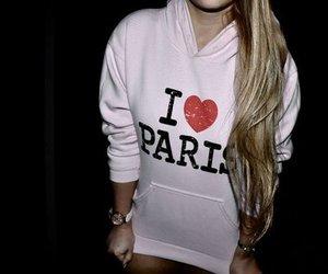 paris, girl, and love image