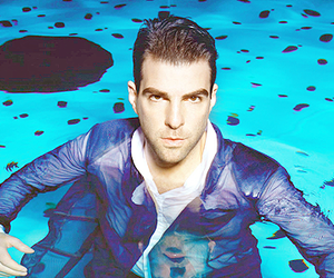 adorable, zachary quinto, and you gorgeous bastard image