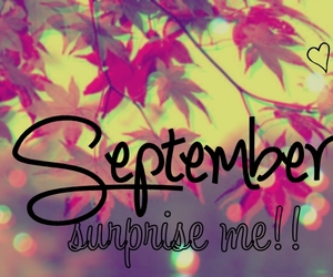 September, quote, and month image