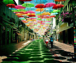 colorful, romantic, and places image