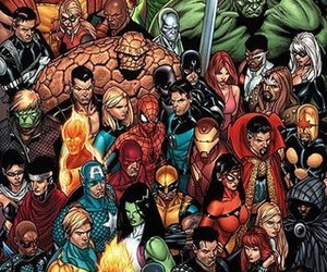 Marvel and comic image
