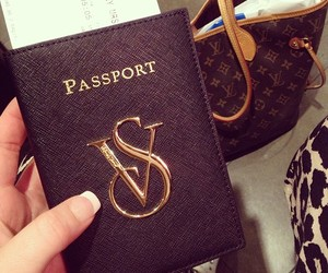 victorias secret, vs, and passport case image