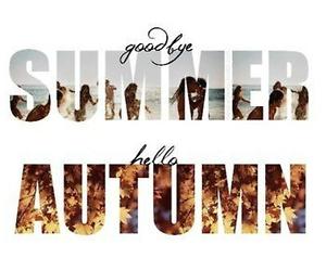 autumn, summer, and hello image