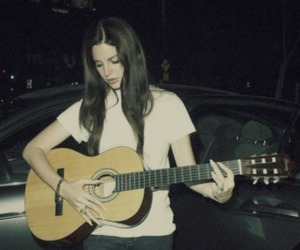lana del rey, guitar, and grunge image
