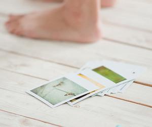 feet, photography, and polaroid image