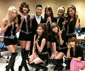 girls generation, kpop, and psy image