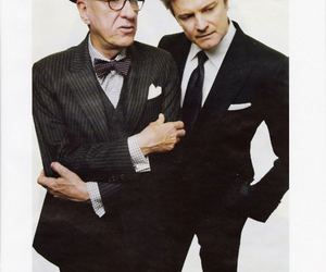 Colin Firth and geoffrey rush image