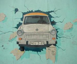 berlin wall and car image