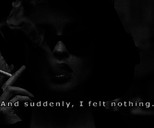 quotes, nothing, and smoke image