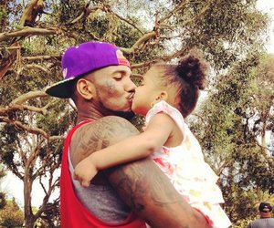 child, daddy, and thegame image