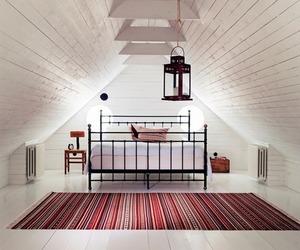 attic, interior design, and minimalistic image