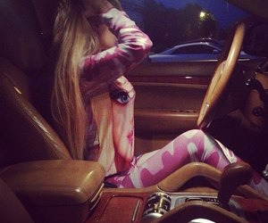 barbie, car, and blonde image