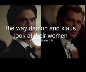 damon, klaus, and the vampire diaries image