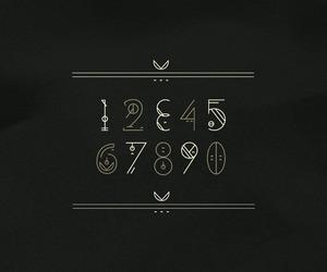 design, font, and glyphs image