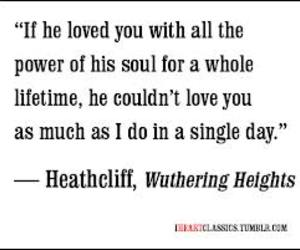 him, wuthering heights, and excerpt image