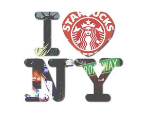 starbucks, new york, and ny image