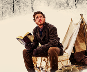book, richard madden, and winter image