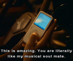 music, quote, and ipod image