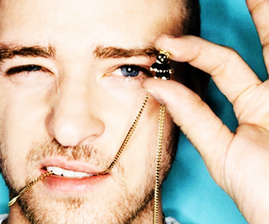 blue eyes, timberlake, and justinn image