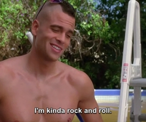 glee, subtitles, and puck image