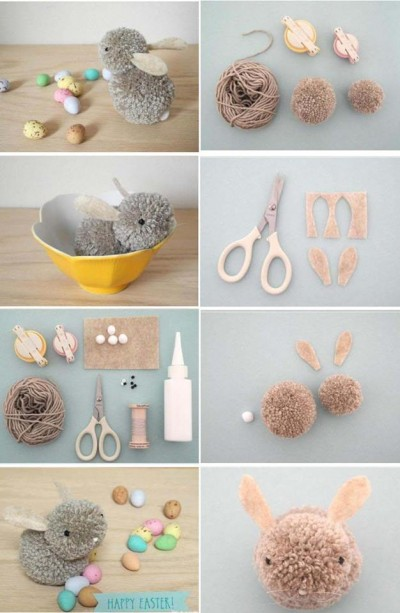 How To Make Lovely Fabric Ball Bunny Step By Step Diy