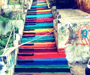 stairs, piano, and art image