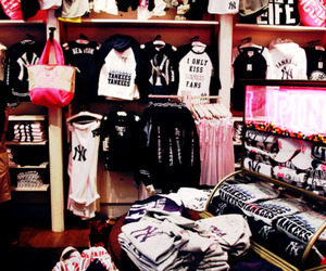 fashion, Victoria's Secret, and yankees image